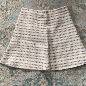 Blue white and gold skirt- never worn